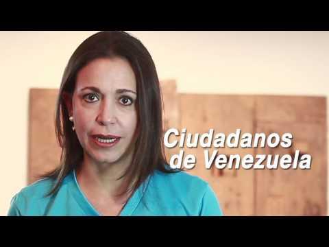 Mensaje de Maria Corina - VENTE VENEZUELA