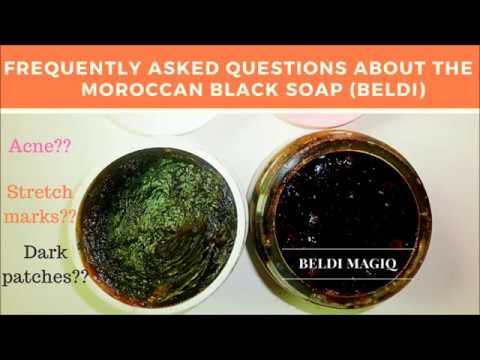 Frequently Asked Questions about Moroccan Black Soap (Beldi)