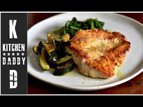 Pan Fried Grouper | Kitchen Daddy