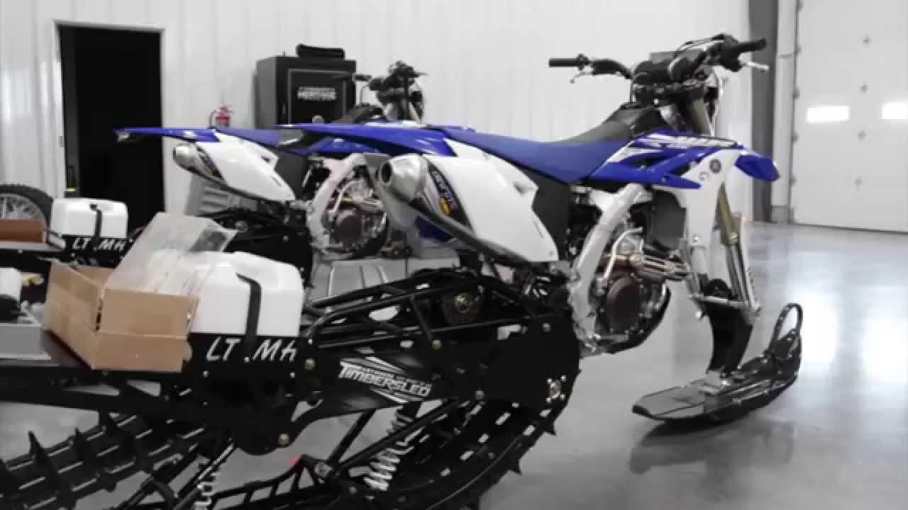 Time Lapse Snow Bike Build Youtube