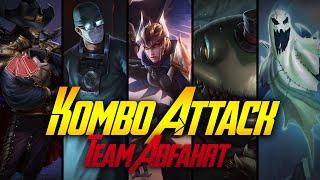 WIE GUT ES FUNKTIONIERT! XD | Kombo Attack | Team Abfahrt | 25
