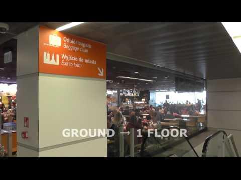 Варшава аэропорт  - ПЕРЕСАДКА & ТРАНЗИТ схема