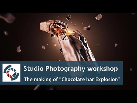 "Studio Photography workshop: The making of ""Chocolate bar Explosion"" thumbnail"
