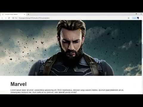 Tutorial Background Parallax HMTL + CSS thumbnail