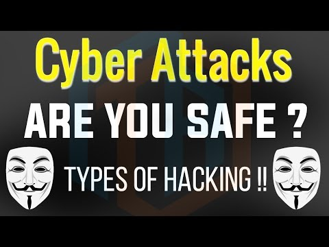 CYBER ATTACKS !! Types of HACKING on Internet | Explained in HINDI - Part -1