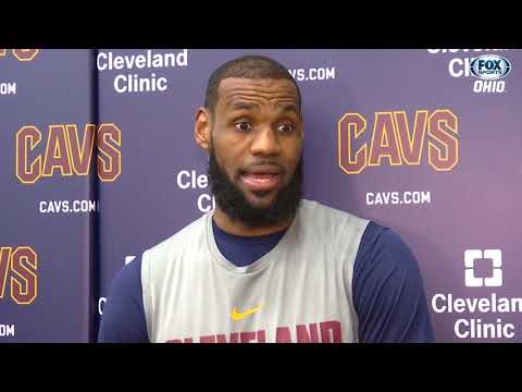 LeBron on Cavs vs. Warriors, who is & isn't ready for playoffs