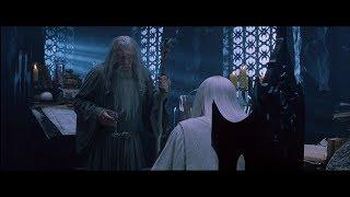 Властелин колец:Братство кольца-Гэндальф против Сарумана