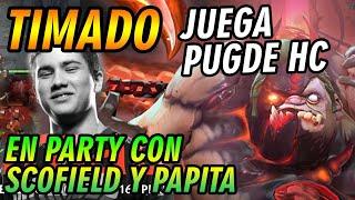 [SORTEO!!] TIMADO JUEGA PUGDE HC EN PARTY CON SCOFIELD Y PAPITA, DOTA TROLL - DOTA 2