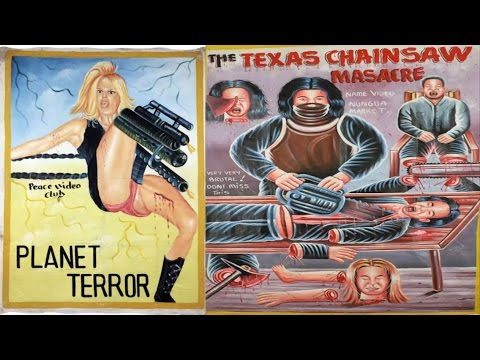 Awesome Bootleg Posters From Ghana