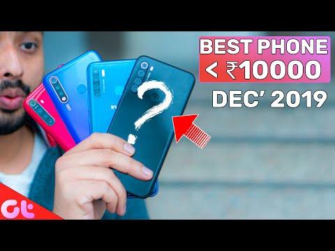 TOP 6 BEST PHONES UNDER 10000 In December 2019 | Sabse Latest & Jabardast | GT Hindi