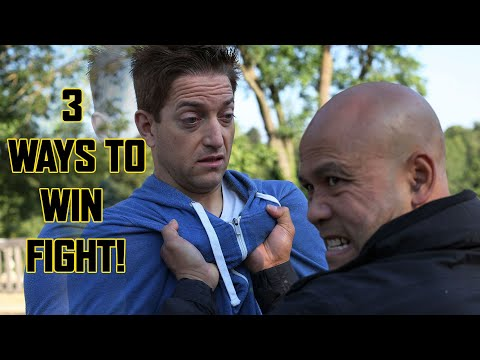 How to WIN a school fight every time | Master Wong