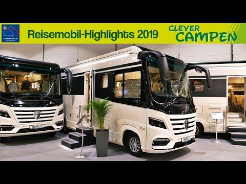 Die Reisemobil-Highlights des Caravan Salons Düsseldorf 2019 | Clever Campen