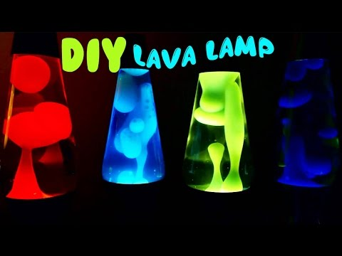 How to Make Lava Lamp Easy Step By Step DIY Tutorial  | Toy Caboodle