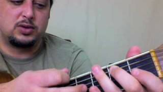 Guitar Lessons Video - Classic Acoustic Bluegrass Lick