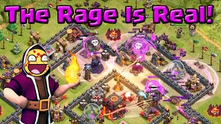 Clash of Clans | The Rage is Real! - Raging The Grass