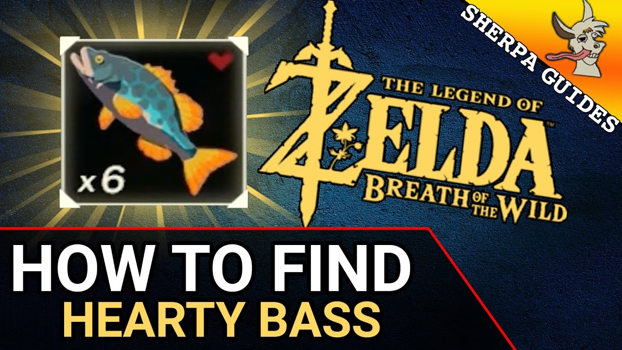How To Find Hearty Bass Zora Gear Upgrade Zelda Breath Of The Wild Youtube