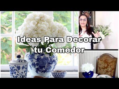 DECORACIÓN PARA El COMEDOR VERANO 2021,IDEAS PARA DECORAR EL COMEDOR