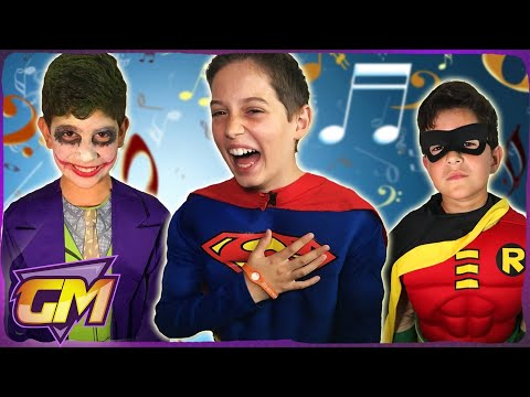 Thumbnail: Batman & Superman & Spiderman & Joker - Songs In Real Life!