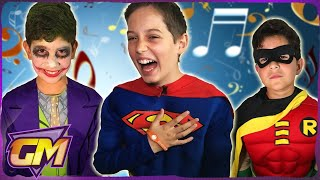 Batman & Superman & Spiderman & Joker - Songs In Real Life!