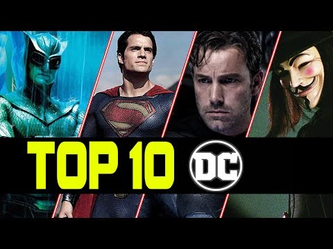 Top 10 Best Action Scenes from DC Movies