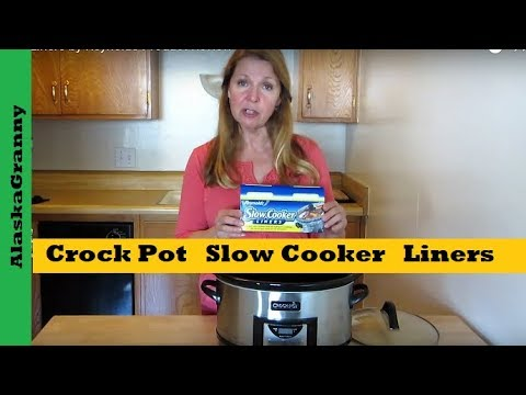 Slow Cooker Liners By Reynolds Product Review No Clean Up Crock Pot Cooking