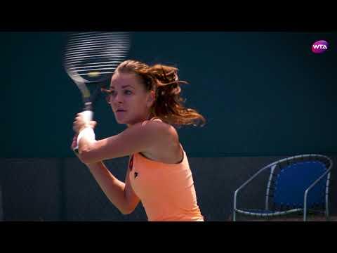 2017 Connecticut Open | Agnieszka Radwanska Practice
