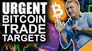 URGENT Bitcoin Trade Targets (Expert Explains UNIQUE Chart)