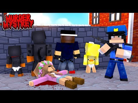 Minecraft Murder Mystery - WHO KILLED LITTLE KELLY?!