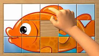 GOLDFISH Puzzle Blocks Game for Kids Puzzles Box