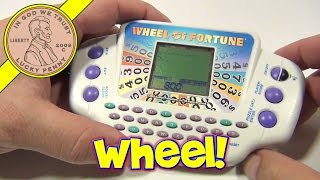 Wheel Of Fortune Electronic Handheld Game, 2005 Hasbro Toys