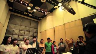 ABS-CBN Christmas Station ID 2010 Recording Sessions