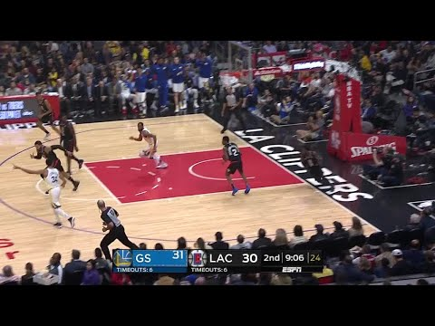 2nd Quarter, One Box Video: Los Angeles Clippers vs. Golden State Warriors