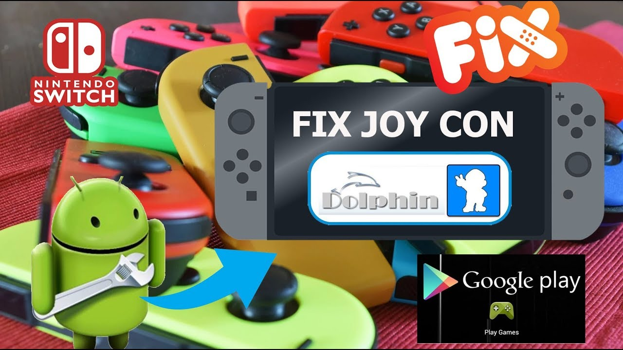 FIX JOYCON DOLPHIN GTA SAN ANDREAS E OUTROS NINTENDO SWITCH ANDROID