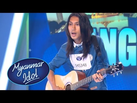 Myanmar Idol 2016 | Kyaw Zin Thant | Yangon Auditions