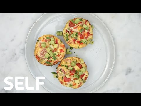 Healthy Low-Carb Egg Muffins Under 200 Calories   SELF