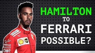 """Is Hamilton Thinking About a Move to Ferrari? - Vettel """"I Did Lewis a Favour"""