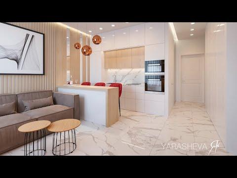 Дизайн Интерьера квартиры в ЖК Царская Площадь
