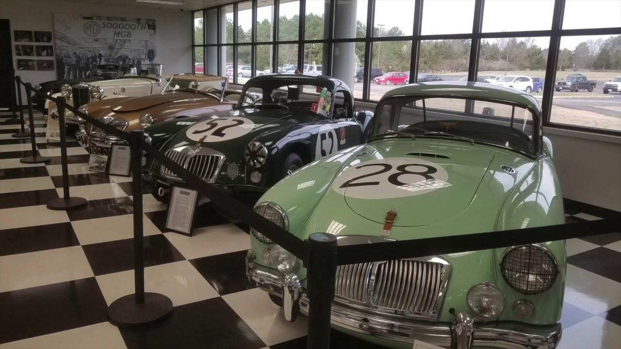 1958 MGA Restoration Visit to Moss Motors