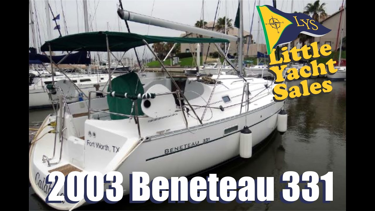 SOLD 2003 Beneteau 331 Sailboat For Sale At Little