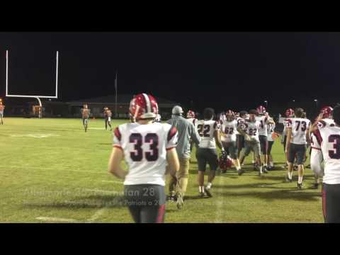Albemarle football holds off Powhatan 2016