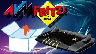 Unboxing - AVM FRITZ!Box 7490 HomeServer + mit WLAN 2.0