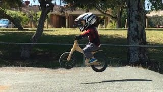 3 year old balance bike video kids early rider lite alley runner BMX strider(Last few months leading up to the new year Max has been busy on his early rider bikes. He is nearly 3 and a half. Enjoy!, 2016-01-10T08:40:07.000Z)