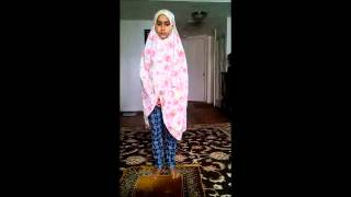 Zainab Wudu and Salah Video