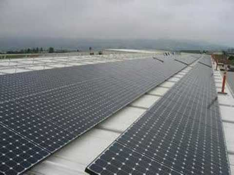 100 Kilowatt Solar Array Installation