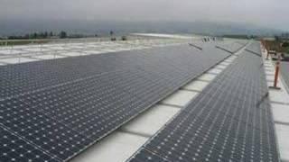 100 Kilowatt Solar Array Installation