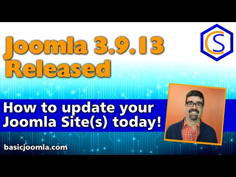 🗞 Live Bulletin -  🔧Joomla! 3.9.13 Security and Bug Release - 2 How to update Joomla Tutorials thumbnail