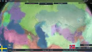 Reformar a União de Kalmar como a Suécia! (Ascensão de Roblox das Nações)