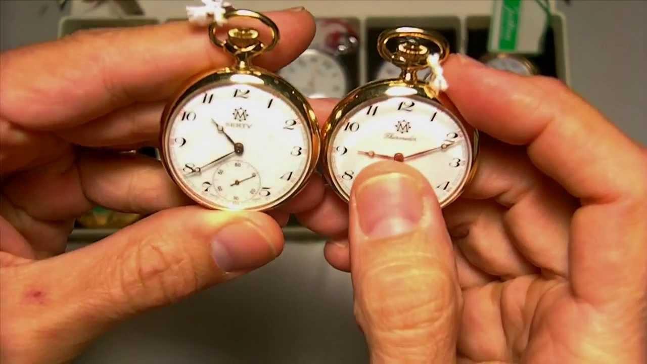 f70226d38 Relojes de bolsillo de cuerda 1 - YouTube