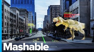 AR Displays in Self-driving Cars Could Actually Be Cool