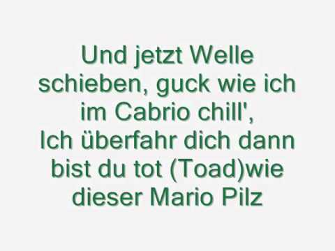Casper, Shiml, Favorite & Kollegah- Mitelfinger hoch ( lyrics on screen)